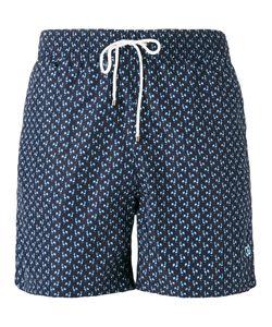Salvatore Ferragamo | Rooster Print Swim Shorts Size 48