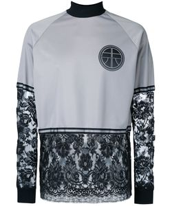 Astrid Andersen | Lace Patch Crewneck Top Men