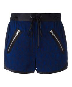 3.1 Phillip Lim   Satin-Trimmed Damask Shorts Size 6