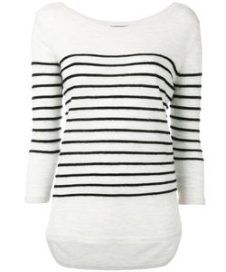 N.Peal | Textured Stripe Jumper Size Large