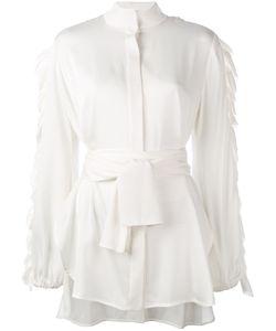 Ellery | Audacity Belted Shirt Size 10