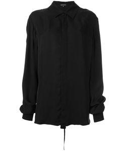 Ann Demeulemeester Blanche   Oversized Shirt 38 Cupro