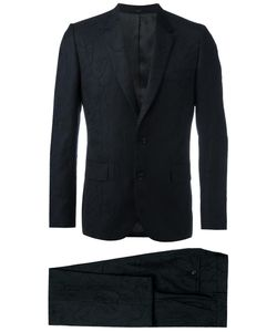 Paul Smith | Tonal Embroidery Two-Piece Suit 40 Viscose/Polyester