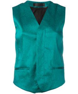 Haider Ackermann   Wrap Waistcoat Size 38
