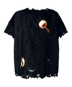 Tsumori Chisato | Patched Macramé Lace T-Shirt Size Medium