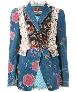 Roberto Cavalli   Patch Fitted Jacket