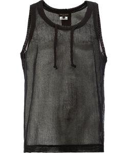 Comme Des Garçons Homme Plus   Open Knit Vest Size Large
