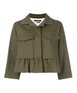 Odeeh | Boxy Cropped Sleeve Jacket 34