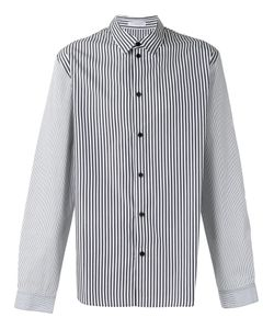 J.W.Anderson   Appliquéd Striped Shirt Size 48