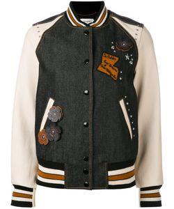 Coach | Embellished Varsity Jacket