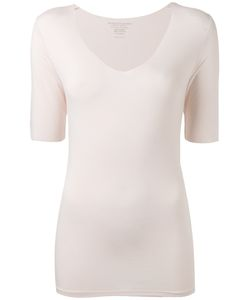 Majestic Filatures | V-Neck Slim-Fit Blouse