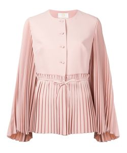 Sara Battaglia | Pleated Detail Jacket