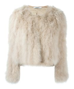Givenchy   Short Turkey Feather Jacket Size 40