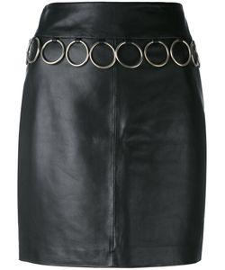 Jeremy Scott   Leather Skirt