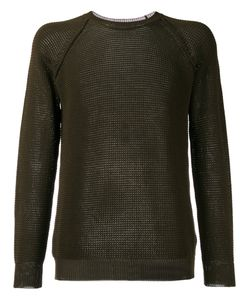 Roberto Collina | Perforated Detail Sweatshirt Size 52