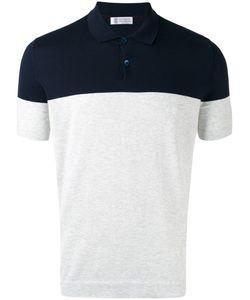 Brunello Cucinelli | Colour Block Polo Shirt