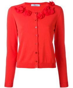 Blumarine | Collar Appliqué Cardigan 48