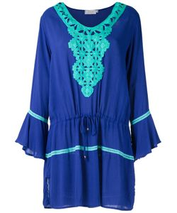Brigitte | Lace Detail Beach Dress Medium