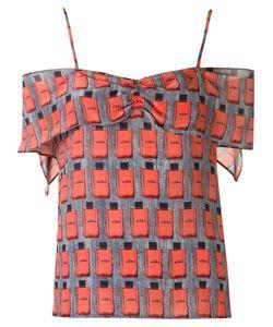 Amir Slama | Lace Up Detail Shorts P Silk