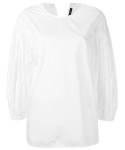 Sofie D'hoore   Pleated Sleeves Blouse Size 38