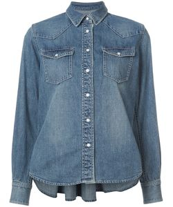Sacai | Belted Denim Shirt Women 3