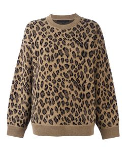 Alexander Wang | Leopard Print Sweater Size Xs