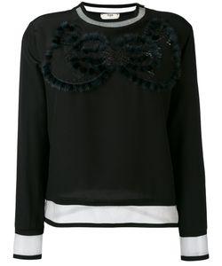 Fendi   Cut Out Sweatshirt