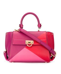 Salvatore Ferragamo | Geometric Colourblock Satchel