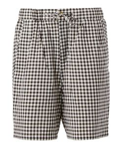 Digawel | Gingham Check Shorts