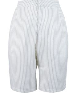 Uma | Side Slit Pockets Bermuda Shorts