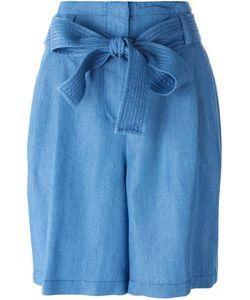 3.1 Phillip Lim   Tie Waist Chambray Shorts