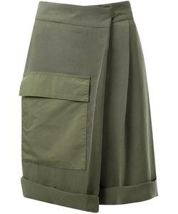 Fad Three | Foldover Pleated Shorts