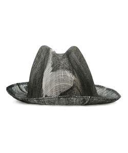 Reinhard Plank | Double Overlay Distressed Hat