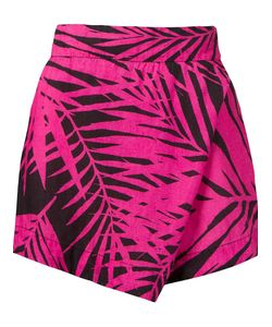 Osklen Praia | Abstract Print Wrap Shorts