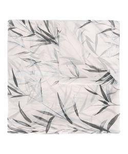 Blumarine   Leaf Print Scarf