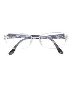 Salvatore Ferragamo | Oval Frame Glasses Acetate/Metal