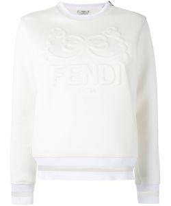 Fendi   Embroidered Sweatshirt 40