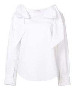 Chloé | Tie Cold Shoulder Blouse