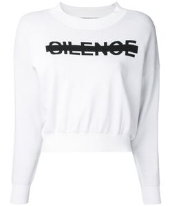 Anrealage | Silence Logo Sweatshirt Size