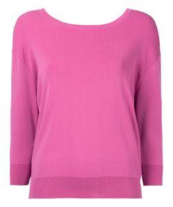 Le Ciel Bleu | Wide Neck Sweatshirt Women