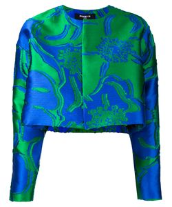 Paule Ka | Jacquard Cropped Jacket