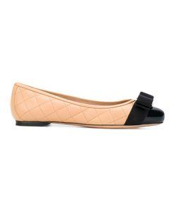 Salvatore Ferragamo | Quilted Varina Ballerina Shoes