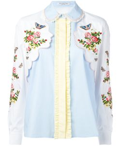 Vivetta | And Face Embroidered Shirt Size 38
