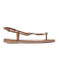Sergio Rossi   Toe-Post Sandals Size 40