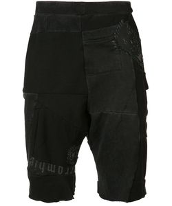 Black Fist | Patchwork Sweatshorts S