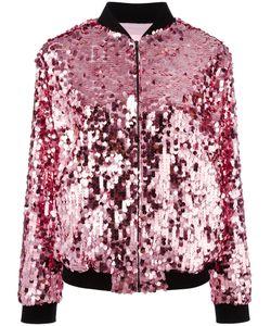 Giamba | Sequin Embellished Bomber Jacket Size 42