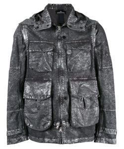 Stone Island Shadow Project | Effect Hooded Jacket Size Medium