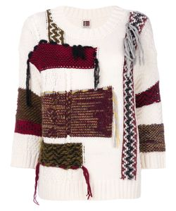 I'M Isola Marras | Oversized Patchwork Effect Jumper Women