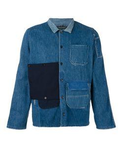 Longjourney | Patched Denim Shirt M