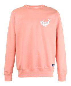 Bleu De Paname   Logo Print Sweatshirt Size Small
